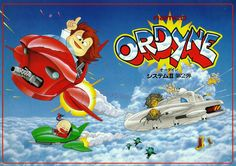 The Arcade Flyer Archive - Video Game Flyers: Ordyne, Namco / Namco Bandai Games