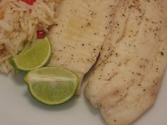Jenn's Food Journey: Grilled Tilapia with Butter and Key Lime Juice