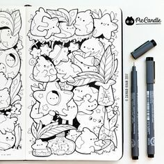 Stars doodle by #piccandle 12JAN17