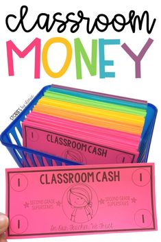 Using classroom money can be highly motivating to students and help students practice important math skills. If you& ready to use money in the classroom this year, take a look at this set of editable classroom cash. Classroom Money, Classroom Economy, Classroom Rewards, Classroom Behavior Management, 2nd Grade Classroom, Kindergarten Classroom, Future Classroom, School Classroom, Classroom Organization
