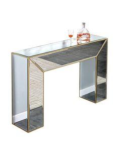 Manhattan Mirrored Console Table, Gold Leaf, http://www.myhabit.com/redirect/ref=qd_sw_dp_pi_li?url=http%3A%2F%2Fwww.myhabit.com%2Fdp%2FB00DY5VQW4