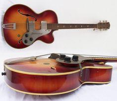 Guitar Blog: Musima Herrnsdorf archtop