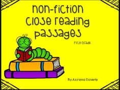 Reading Passages, Reading Comprehension, 2nd Grade Reading Worksheets, Complete Sentences, Reading Lessons, Close Reading, Nonfiction, Lesson Plans, Teaching Resources