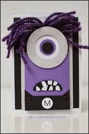 evil minion birthday card - Google Search