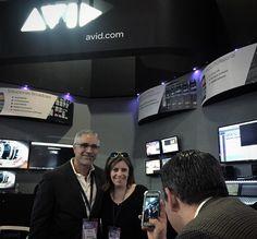 Mónica Bolland y Ángel Ylisastigui Equipo #AvidLatAm #Marketing #AvidEverywhere #ExpoCineVideoTelevisionCiudadPantalla @RevistaPantalla