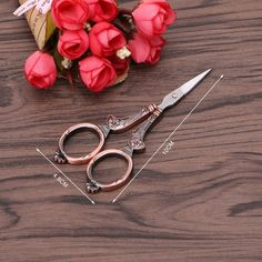 Your place to buy and sell all things handmade Vintage Scissors, Sewing Scissors, Embroidery Scissors, Hand Embroidery Patterns, Cross Stitch Thread, Dressmaking, Needlepoint, Stitch Patterns, Needlework