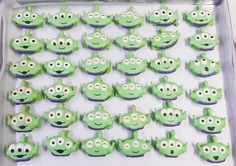 Alien from Toy Story Macarons