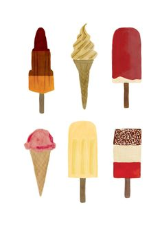 Ice Cream - cute poster - maybe for invite or thank you