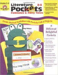 Amazon.com: Literature Pockets, Folk Tales and Fairy Tales, Grades 2-3 (9781557998729): Evan Moor: Books