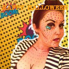 #Halloween #Lichtenstein #Makeup #Beauty #Creative #Comicbook #Lifestyle #LifestyleBlog I #BSMHB #BeStillMyHeartBlog I www.BeStillMyHeartBlog.wordpress.com