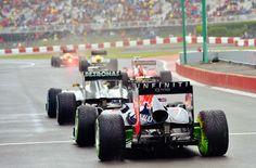 Wet Qualifiying Canadian Grand Prix, Mark Webber, Valtteri Bottas