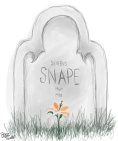 Snape's Lily by ~BreeTwee on deviantART
