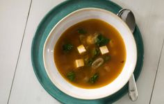 Vegetable Soup with Sriracha, Lemongrass, and Tofu - Bon Appétit