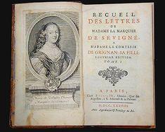 Le recueille des lettres de Mme de Sévigné