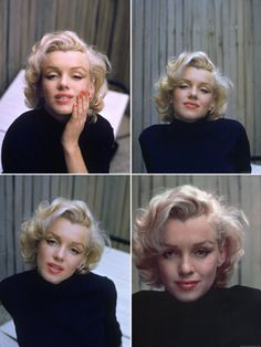 Marilyn Monroe photographed by Alfred Eisenstaedt.