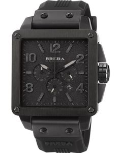 Drawing inspiration from the clean, modern lines of contemporary Italian design, the square 43mm Quattro Collection exudes a unique style and signature expected from all BRERA OROLOGI collections. http://breraorologi.com/watches-for-men/quattro/brqtc3305   #brera #watches #menswatches #quattro #italian