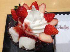 【数年前から札幌でも食べられる】小樽市にあるあまとうの「クリームぜんざい」