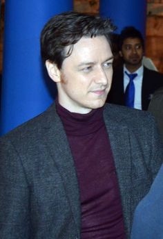 James McAvoy on the set of Trance in London on Oct. 16, 2012