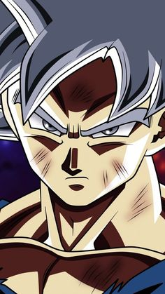 With Dragon Ball Super Episode we saw mastered Ultra Instinct form out of Goku for the first time. More inf here. Dragon Ball Z, Dragon Ball Image, Goku Super, Son Goku, Goku Ultra Instinct, Dbz Vegeta, Super White, Ben 10, White Hair