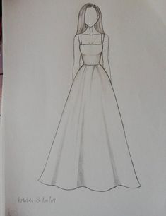 Fashion design sketches 797559415249110676 - Dress Drawing Sketches Beautiful Source by Dress Design Drawing, Dress Design Sketches, Fashion Design Sketchbook, Girl Drawing Sketches, Fashion Design Drawings, Cool Art Drawings, Fashion Sketches, Drawing Ideas, Easy Drawings