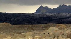 Los efectos del calentamiento global sobre un glaciar en Islandia