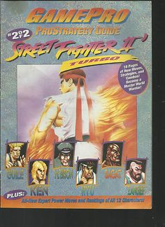 Gamepro Prostrategy Guide Strategy Street Fighter II Turbo Part 2 of 2