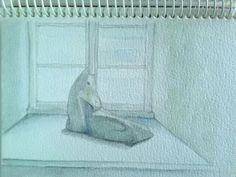 Ullis Speckstein auf der Fensterbank