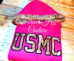 USMC Varsity pullover Usmc Girlfriend Usmc by ForeverHisCouture
