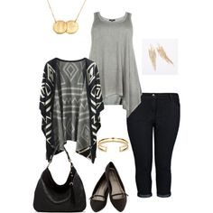 Comfortable everyday outfit. Excellent style for any shape or size