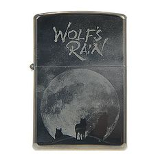 Zippo Wolves Metal