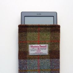 tweed  kindle cover, time to snuggle
