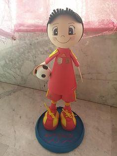 Fofucha futbolista selección española