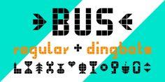 Bus font download