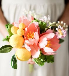 Fruity pink bouquet