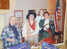 Chisholm Trail Heritage Center's education team in 2007-08, from left, Kathy Dumas, Darla Carpenter, Jami Cole and Kim Goddard. This was the 2nd year to earn the Great Expectations Model School certification.