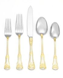 Royal Albert Flatware 18/10, Old Country Roses 65 Pc Set, Service for 12