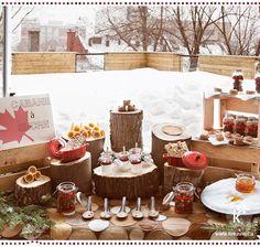 Table de douceurs | Cabane à sucre | Crédits photo : Julia C Vona | via kreavie.com