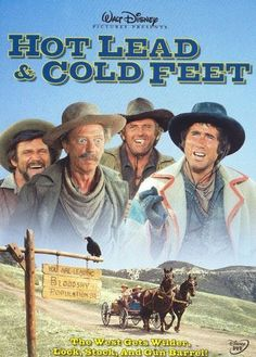Hot Lead & Cold Feet [DVD] [1978]