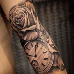 Amazing artist Nick Matic @nickmatic_tattoos  awesome pocket watch elegant design tattoo! @art_spotlight ...