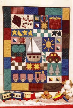 Toys for Boys quilt