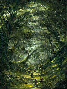 Hungry Forest by ~bpsola on deviantART