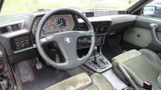 BMW 635csi interior