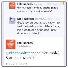ed sheeran and nina nesbitt relationship tips