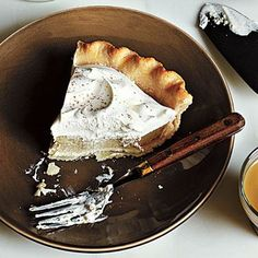 Chai Cream Pie | Cookinglight.com