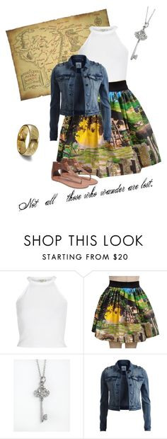 """""""Untitled #23"""" by karlyallen ❤ liked on Polyvore featuring River Island, Lord & Taylor, Object Collectors Item, Wet Seal, lordoftherings and TheHobbit"""