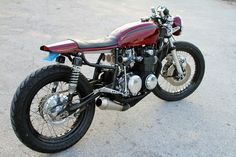 1976 Honda CB 550 Cafe Racer by The Corner Garage #motorcycles #caferacer #motos | caferacerpasion.com
