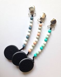 Items similar to COOKIE Teether - Pacifier Clip 0f5816751
