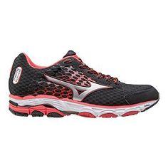 41e1fb48ec3f Mizuno Women s Wave Inspire 11 Running Shoes - Black Red White