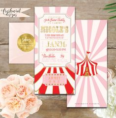 Hey, I found this really awesome Etsy listing at https://www.etsy.com/listing/261765653/printable-invitations-girls-carnival