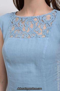 Kleid Riva 11973 im Online-Shop Russisch Salwar Neck Designs, Neck Designs For Suits, Kurta Neck Design, Sleeves Designs For Dresses, Neckline Designs, Stylish Dress Designs, Blouse Neck Designs, Kurti Sleeves Design, Simple Kurti Designs